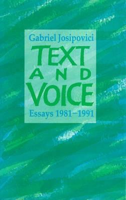 Text and Voice: Essays (Hardback)
