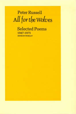 All for the Wolves: Selected Poems 1947-1975 (Paperback)