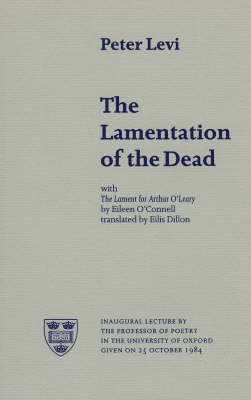 The Lamentation of the Dead - Poetica No. 19 (Paperback)