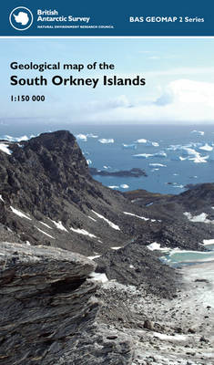 Geological Map of the South Orkney Islands - BAS GEOMAP 2 Series Sheet 3 (Sheet map, folded)