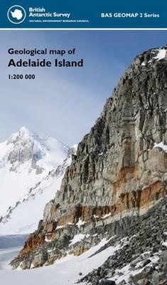 Geological Map of Adelaide Island - BAS GEOMAP 2 Series Sheet 2 (Sheet map, folded)
