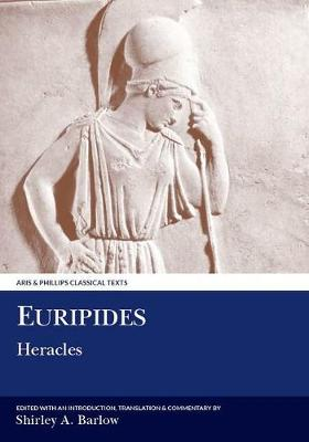 Euripides: Heracles - Aris & Phillips Classical Texts (Paperback)