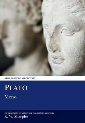 Plato: Meno - Aris & Phillips Classical Texts (Paperback)