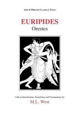 Euripides: Orestes - Aris & Phillips Classical Texts (Paperback)