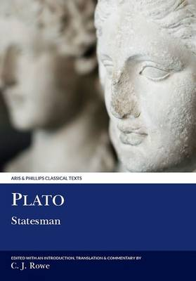 Plato: Statesman - Aris & Phillips Classical Texts (Paperback)
