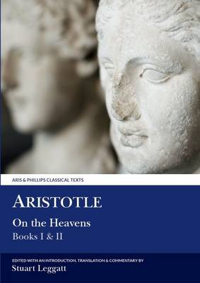 On the Heavens - Aris & Phillips Classical Texts (Paperback)