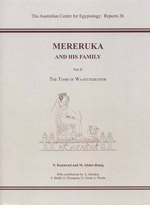 Mereruka and His Family, Part II - ACE Reports 26 (Paperback)