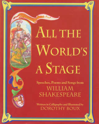 All the Worlds a Stage: Speeches (Hardback)