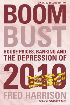 Boom Bust: House Prices, Banking and the Depression of 2010 (Paperback)
