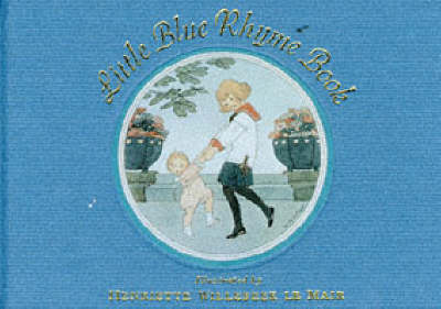 Little Blue Rhyme Book (Hardback)