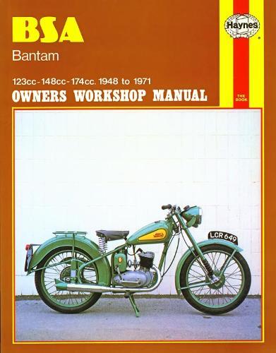 B. S. A. Bantam Owner's Workshop Manual - Motorcycle Manuals (Paperback)