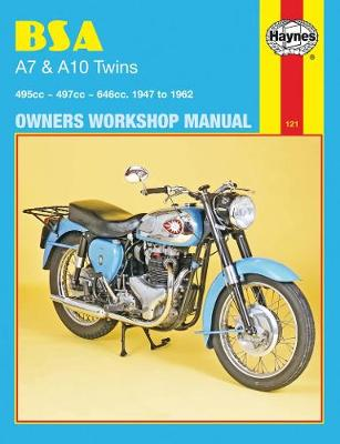 B. S. A. A7 and A10 Twins Owner's Workshop Manual - Motorcycle Manuals (Paperback)