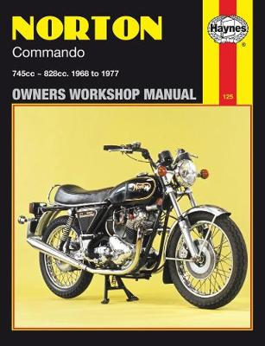 Norton Commando Owner's Workshop Manual - Motorcycle Manuals (Paperback)