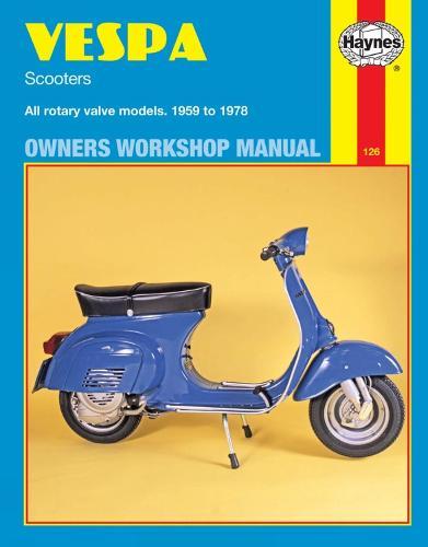 Vespa Scooters (59 - 78) (Paperback)