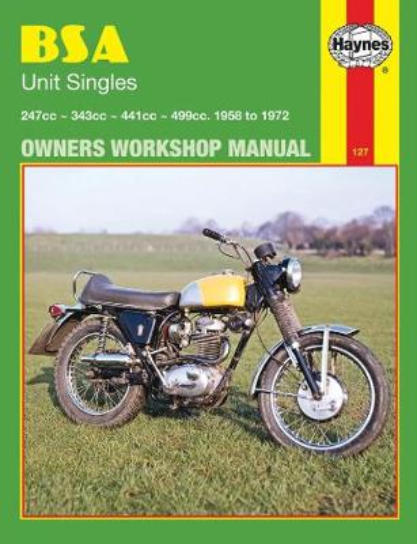 BSA Unit Singles: Owners Workshop Manual - Motorcycle Manuals (Paperback)