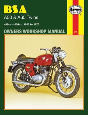 B. S. A. A50 and A65 Series Owner's Workshop Manual - Motorcycle Manuals (Paperback)