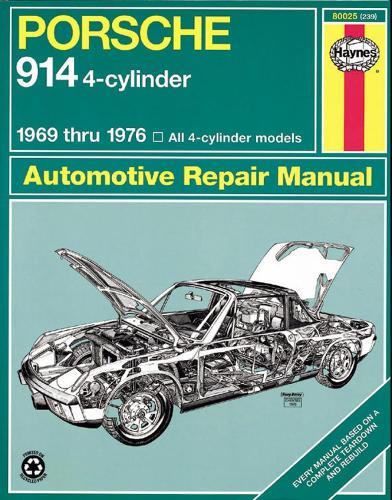 Porsche 914 (4-Cyl) (69 - 76) (Paperback)