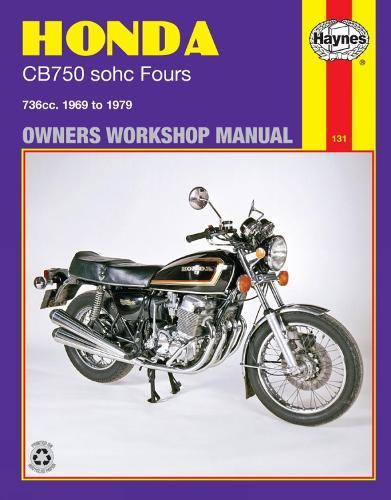 Honda CB750 Sohc Four (69 - 79) (Paperback)