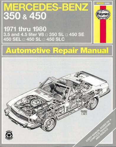Mercedes-Benz 350 & 450 (71 - 80) (Paperback)