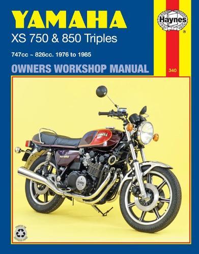 Yamaha Xs750 & 850 Triples (76 - 85) (Paperback)