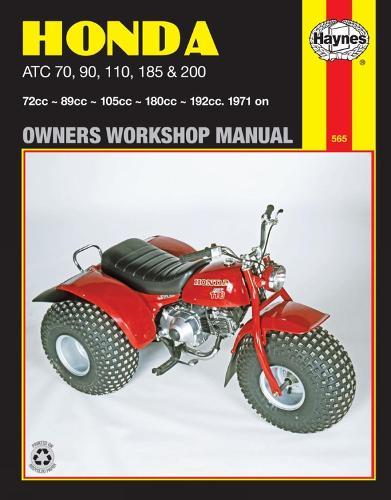 Honda ATC70, 90, 110, 185 & 200 (71 - 85) (Paperback)