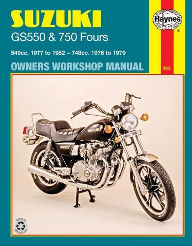 Suzuki Gs550 (77 - 82) & Gs750 Fours (76 - 79) (Paperback)