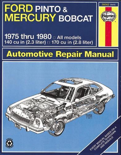 Ford Pinto & Mercury Bobcat (75 - 80) (Paperback)