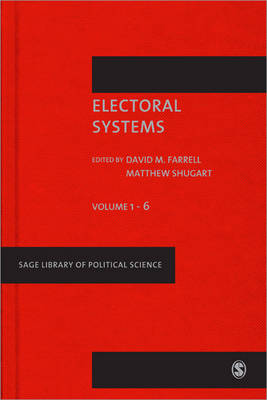 Electoral Systems - Sage Library of Political Science (Hardback)