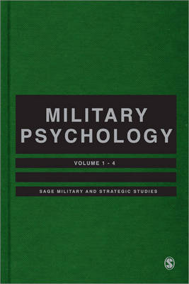 Military Psychology - SAGE Library of Military and Strategic Studies (Hardback)
