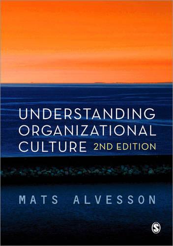 Understanding Organizational Culture (Paperback)