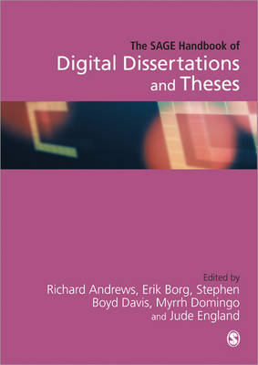 The SAGE Handbook of Digital Dissertations and Theses (Hardback)