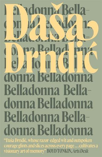 Belladonna - MacLehose Press Editions (Paperback)
