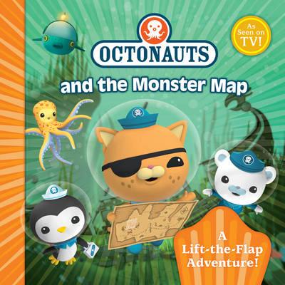 Octonauts Monster Map: A Lift-the-Flap Adventure - OCTONAUTS (Paperback)