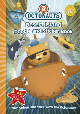 Desert Island Doodle and Sticker Book - Octonauts (Paperback)
