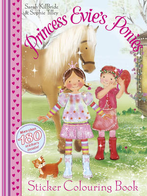 Princess Evie Sticker Colouring Book (Paperback)