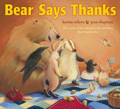 Bear Says Thanks (Paperback)