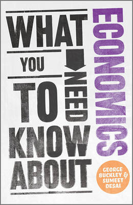 What You Need to Know about Economics (Paperback)