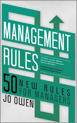 Management Rules: 50 New Rules for Managers (Paperback)