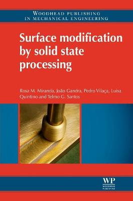 Surface Modification by Solid State Processing (Hardback)