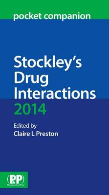 Stockley's Drug Interactions Pocket Companion 2014 (Paperback)