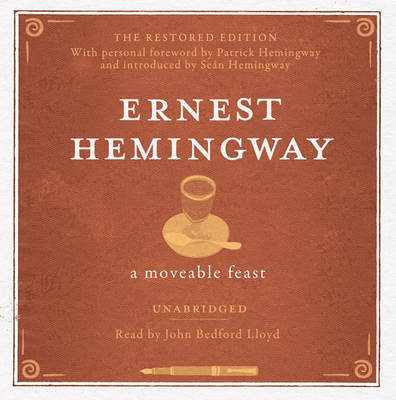 A Moveable Feast UNABRIDGED Audio CD (CD-Audio)