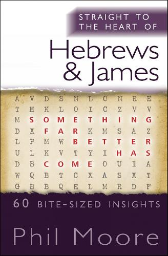 Straight to the Heart of Hebrews and James: 60 bite-sized insights - The Straight to the Heart Series (Paperback)