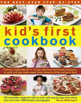 Best Ever Step-by-Step Kid's First Cookbook (Paperback)