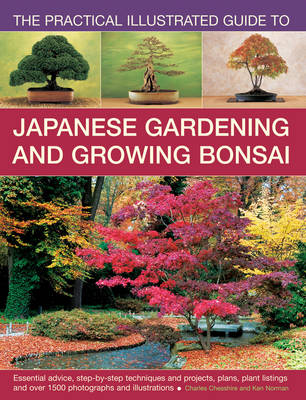 Practical Illustrated Guide to Japanese Gardening and Growing Bonsai (Paperback)