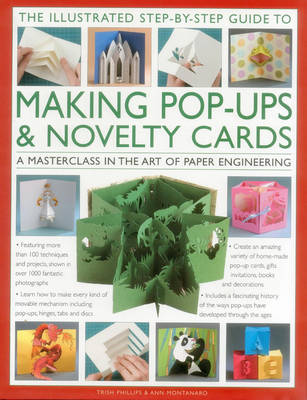 Illustrated Step-by-Step Guide to Making Pop-Ups & Novelty Cards (Hardback)
