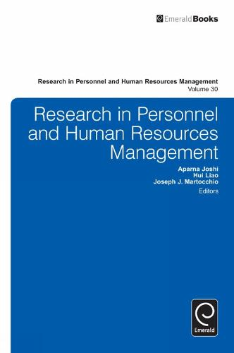 Research in Personnel and Human Resources Management - Research in Personnel and Human Resources Management 28 (Hardback)