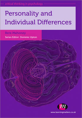 Personality and Individual Differences - Critical Thinking in Psychology Series (Paperback)