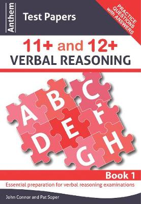Anthem Test Papers 11+ and 12+ Verbal Reasoning Book 1 - Anthem Learning Verbal Reasoning (Paperback)