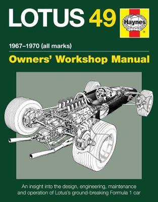 Lotus 49 Manual: 1967 - 1970 (all marks) (Hardback)