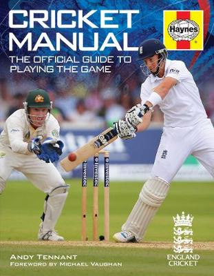 Cricket Manual: The official guide to playing the game (Paperback)